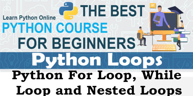 Python Loops - For Loop, While Loop and Nested Loops
